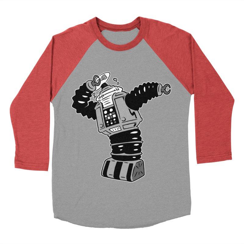 DAB Robot Men's Baseball Triblend Longsleeve T-Shirt by Frankenstein's Artist Shop