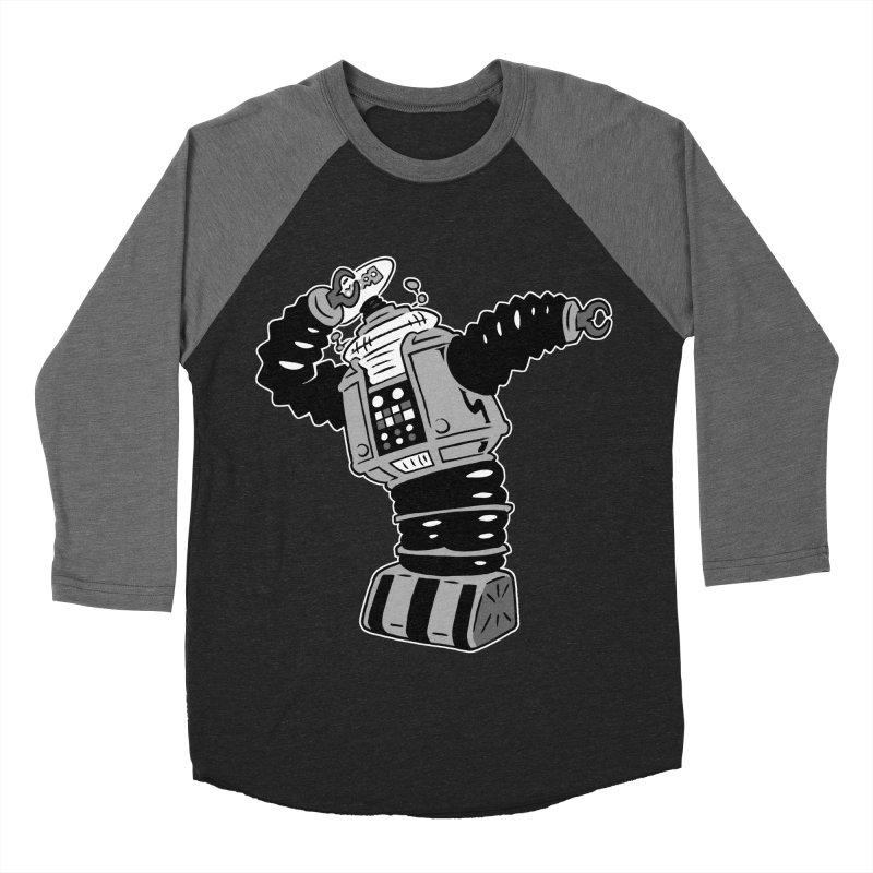 DAB Robot Men's Baseball Triblend T-Shirt by Frankenstein's Artist Shop
