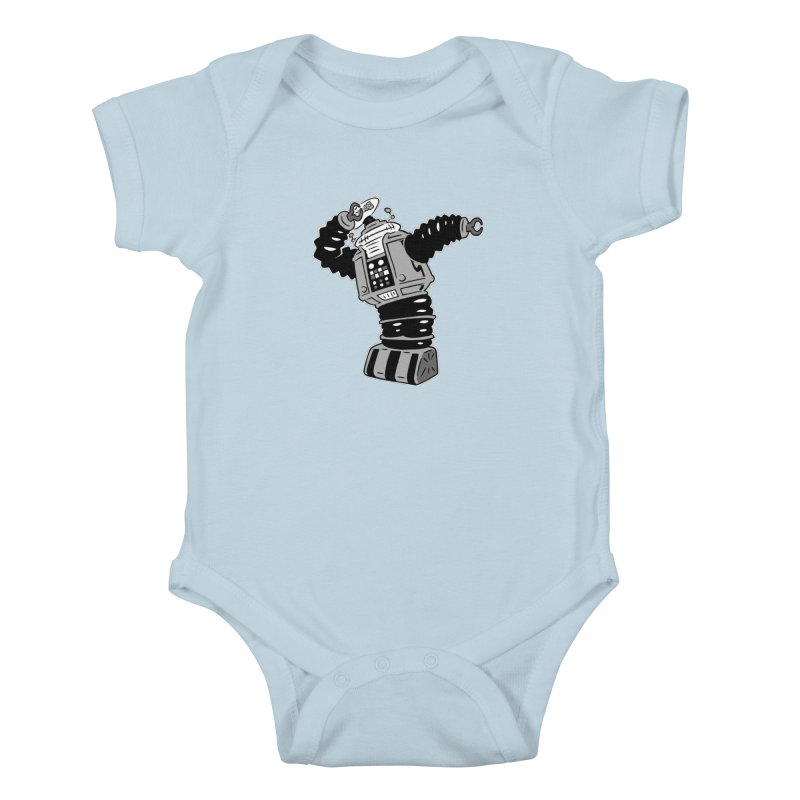 DAB Robot Kids Baby Bodysuit by Frankenstein's Artist Shop