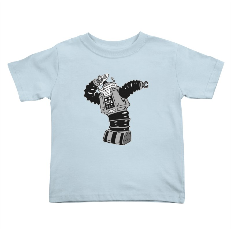 DAB Robot Kids Toddler T-Shirt by Frankenstein's Artist Shop
