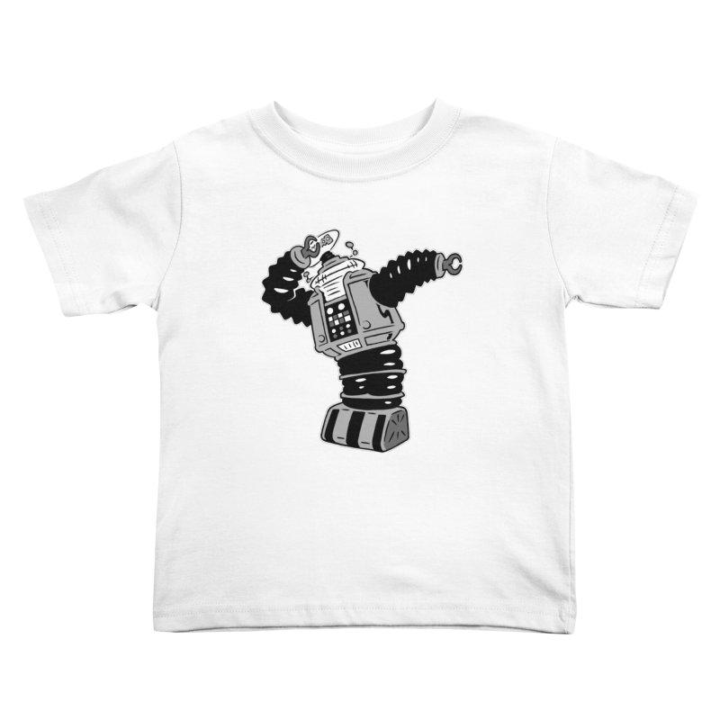 DAB Robot Kids Toddler T-Shirt by Frankenstein's Artist Shop