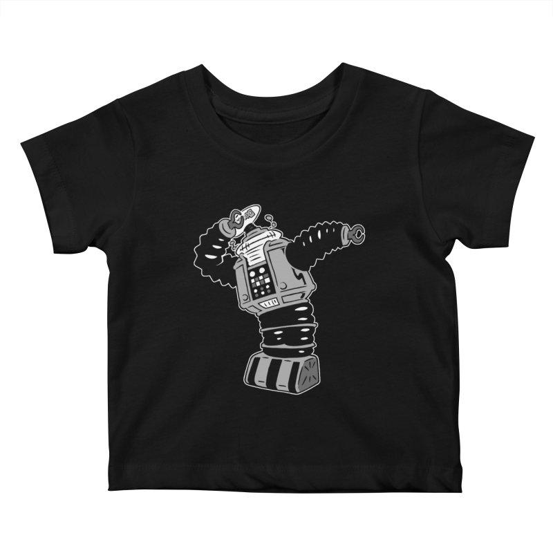 DAB Robot Kids Baby T-Shirt by Frankenstein's Artist Shop