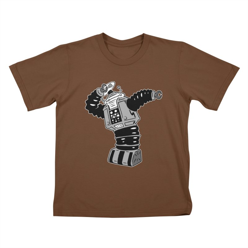 DAB Robot Kids T-Shirt by Frankenstein's Artist Shop