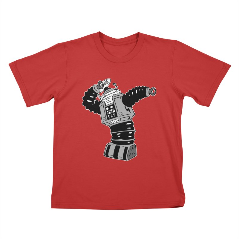 DAB Robot Kids T-Shirt by Frankenstein's Artist Shop