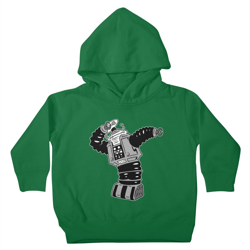DAB Robot Kids Toddler Pullover Hoody by Frankenstein's Artist Shop
