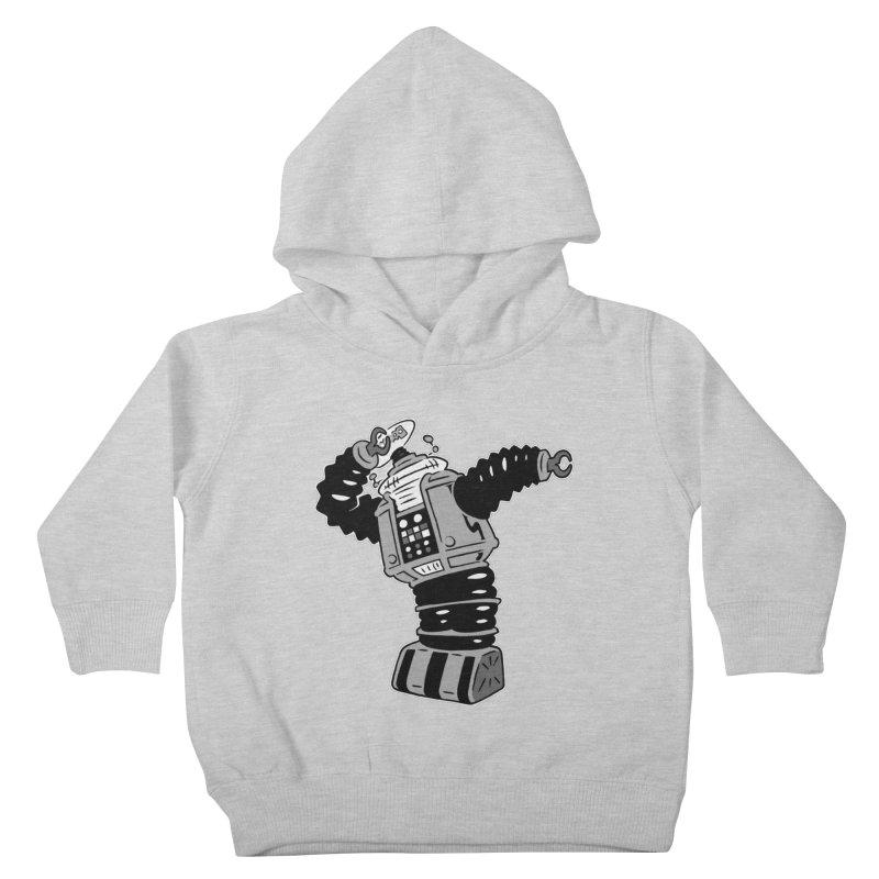 DAB Robot Kids Toddler Pullover Hoody by Frankenstein's Artist Shop