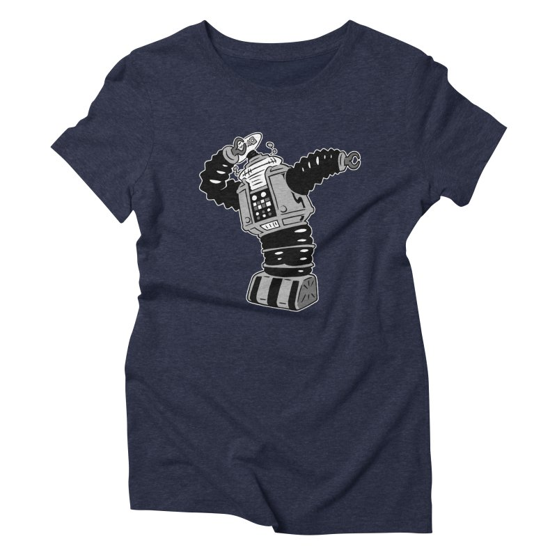 DAB Robot Women's Triblend T-Shirt by Frankenstein's Artist Shop