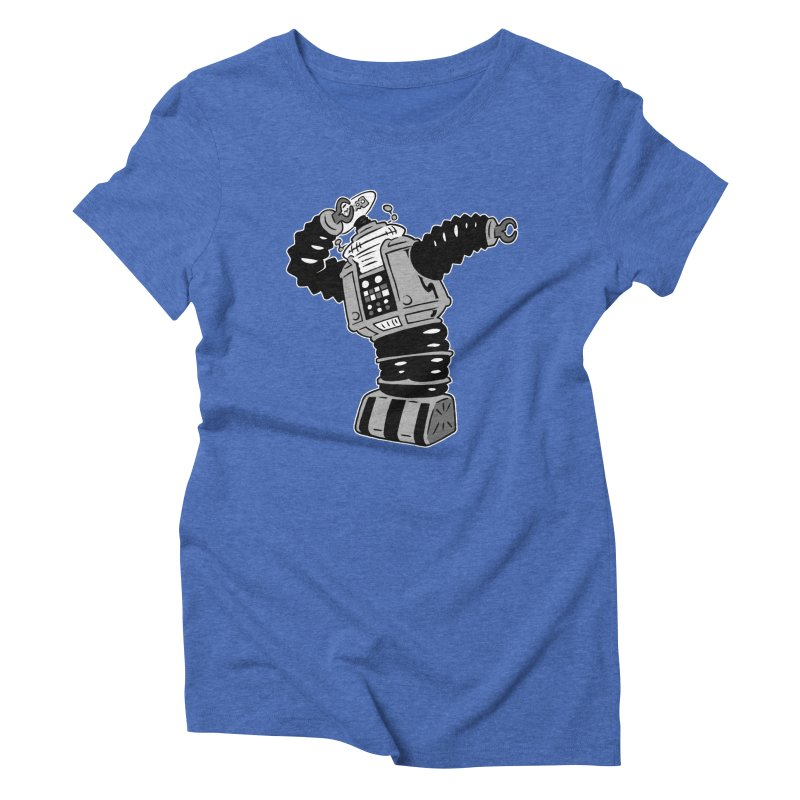 DAB Robot Women's Triblend T-Shirt by Frankenstein's Artist Shop