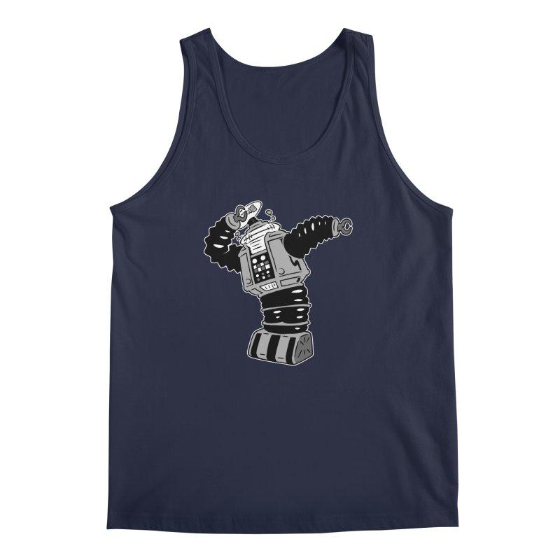 DAB Robot Men's Tank by Frankenstein's Artist Shop