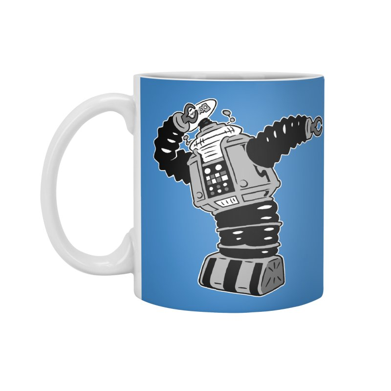DAB Robot Accessories Mug by Frankenstein's Artist Shop