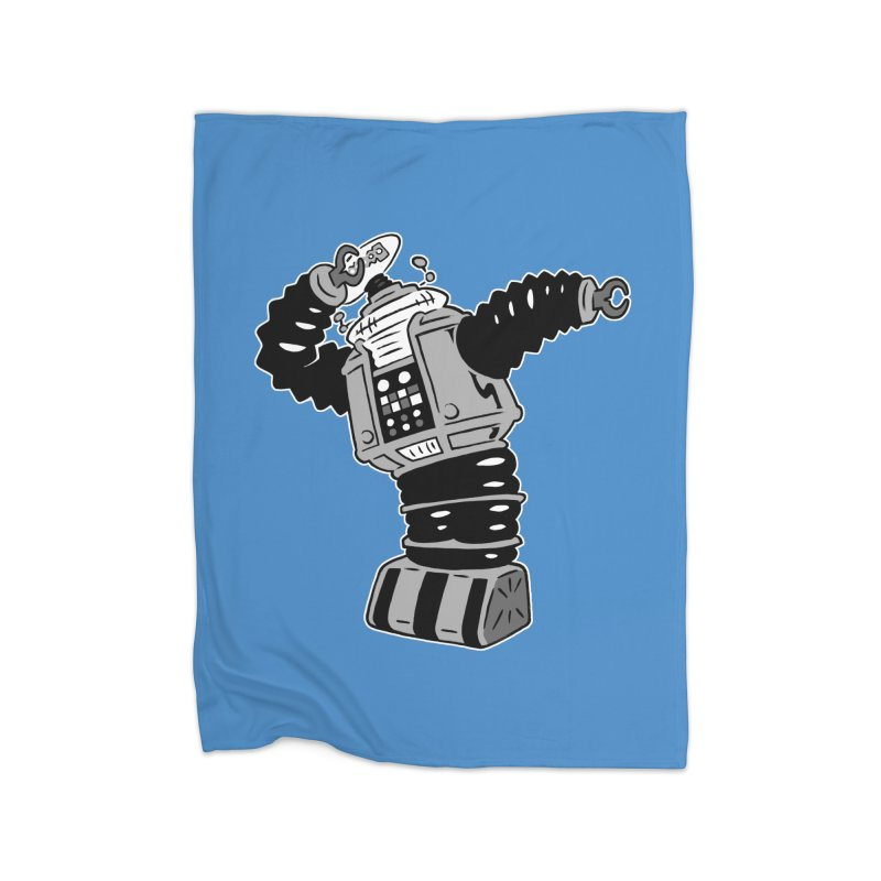 DAB Robot Home Blanket by Frankenstein's Artist Shop