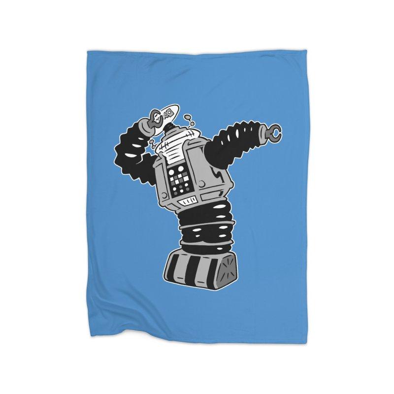 DAB Robot Home Blanket by Frankenstein's Artist Shop