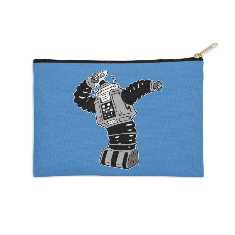 DAB Robot Accessories Zip Pouch by Frankenstein's Artist Shop