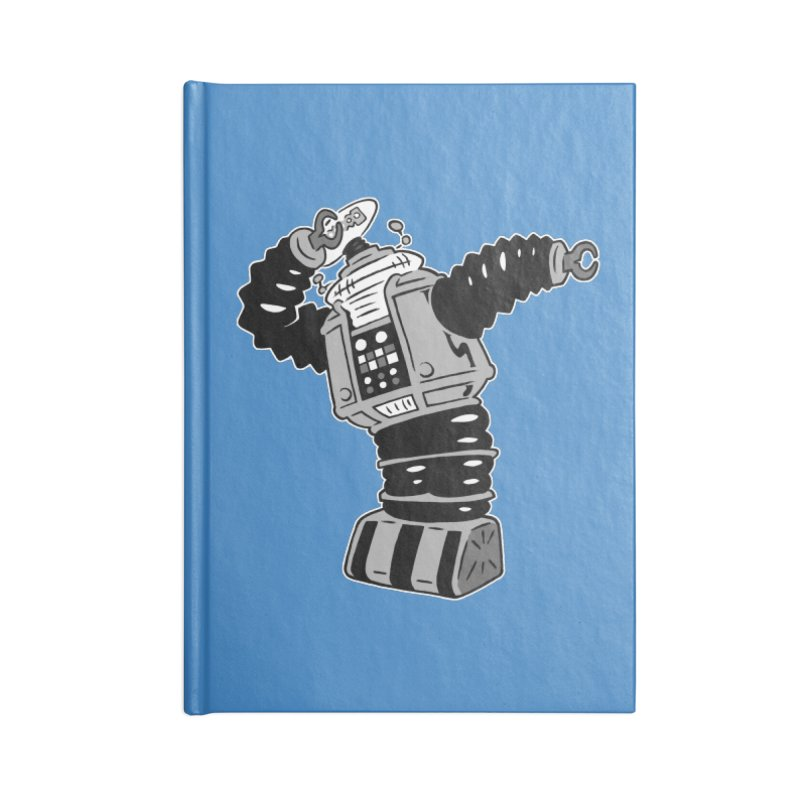 DAB Robot Accessories Notebook by Frankenstein's Artist Shop