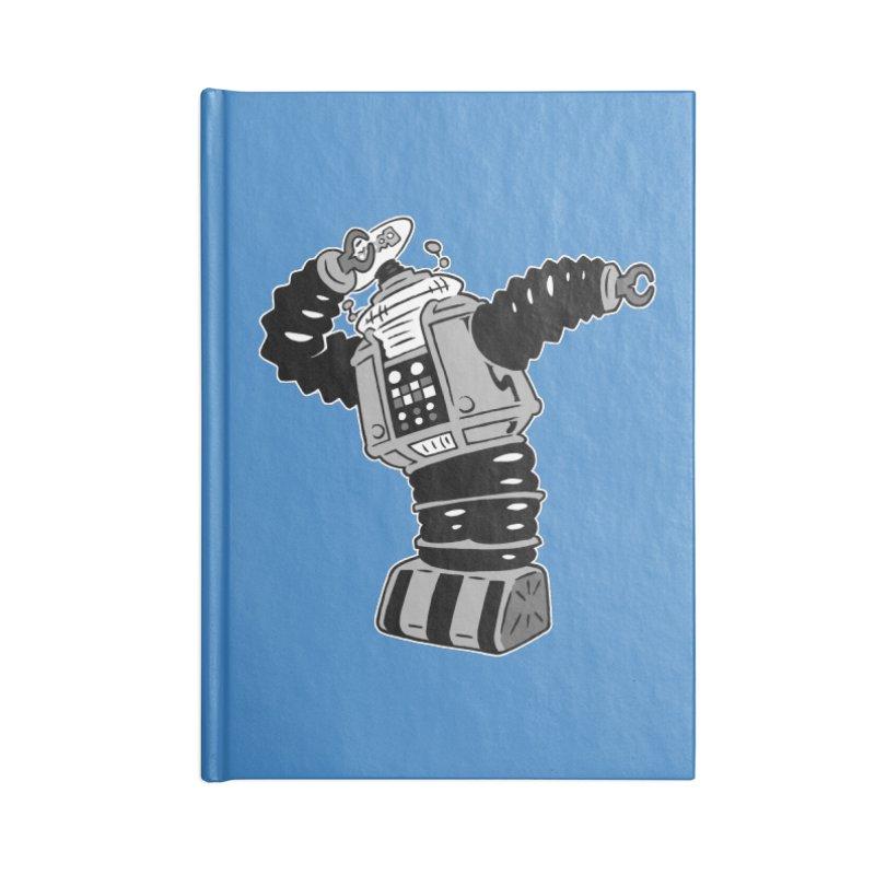 DAB Robot Accessories Blank Journal Notebook by Frankenstein's Artist Shop