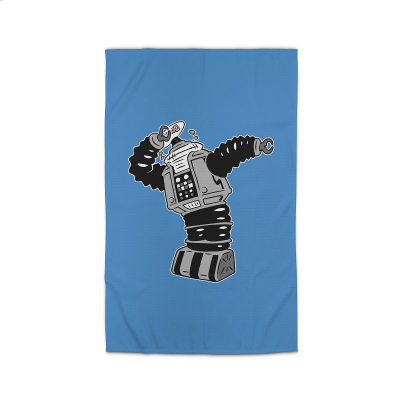 DAB Robot Home Rug by Frankenstein's Artist Shop