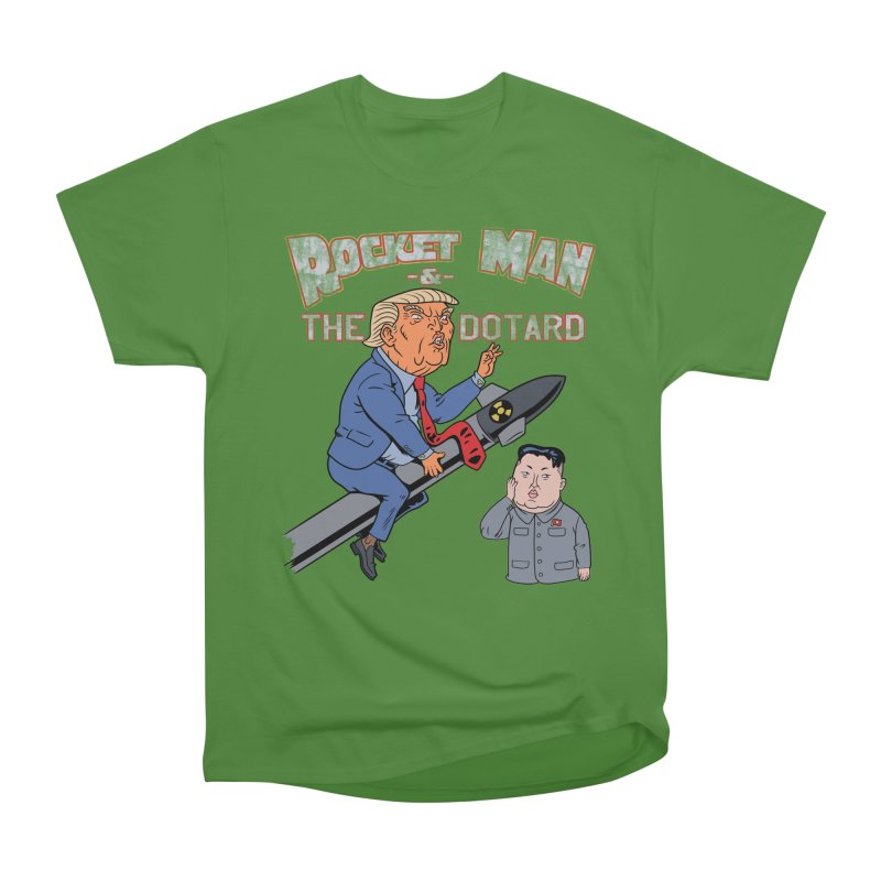 Rocket Man & the Dotard Women's Classic Unisex T-Shirt by Frankenstein's Artist Shop