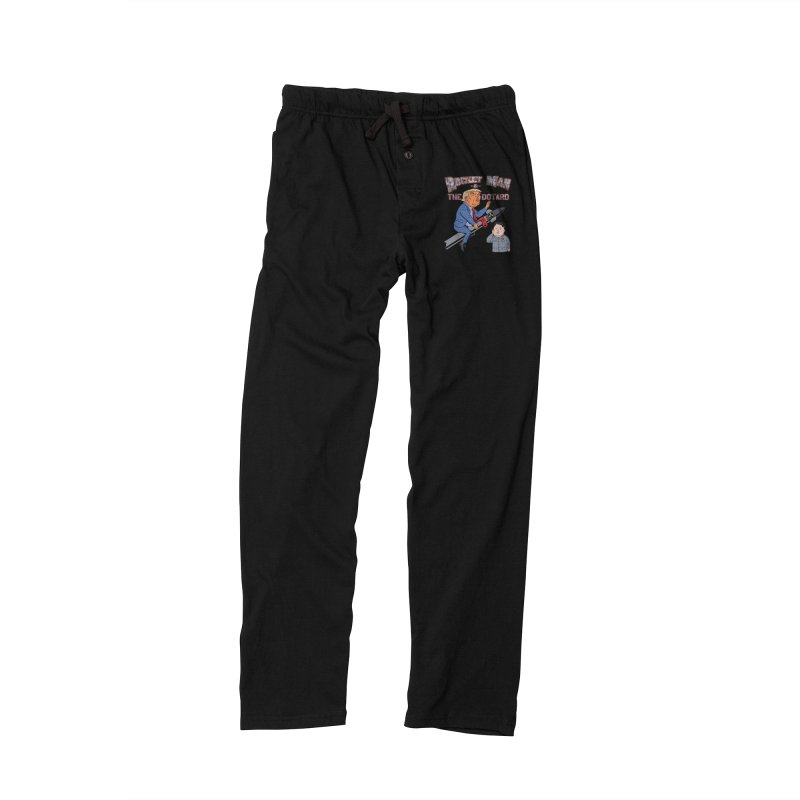 Rocket Man & the Dotard Women's Lounge Pants by Frankenstein's Artist Shop