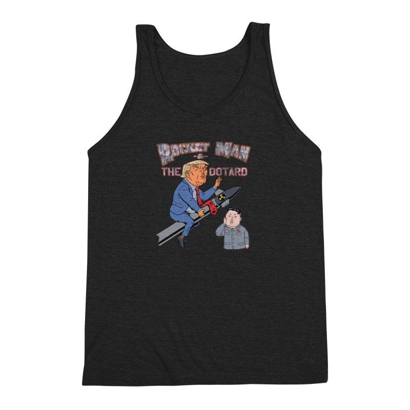 Rocket Man & the Dotard Men's Tank by Frankenstein's Artist Shop