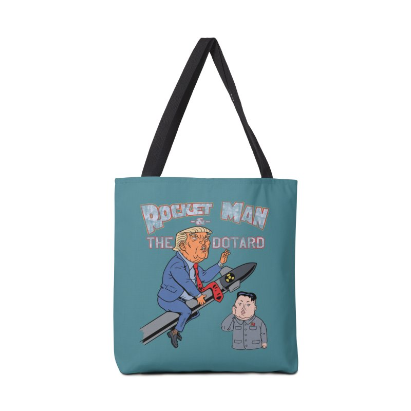 Rocket Man & the Dotard Accessories Bag by Frankenstein's Artist Shop