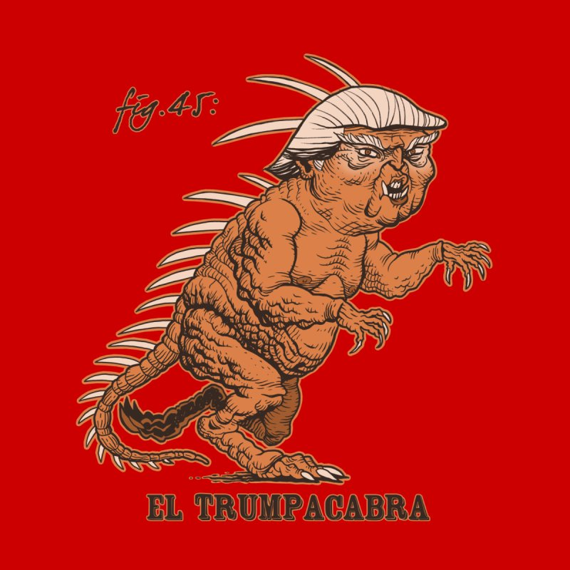 El Trumpacabra Men's Triblend Tank by Frankenstein's Artist Shop