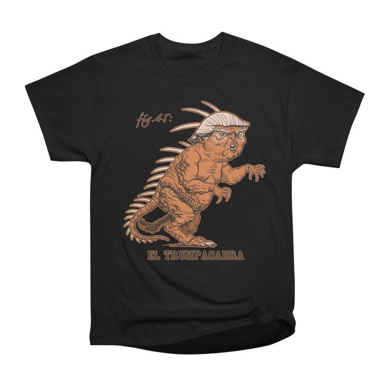 El Trumpacabra Women's Heavyweight Unisex T-Shirt by Frankenstein's Artist Shop