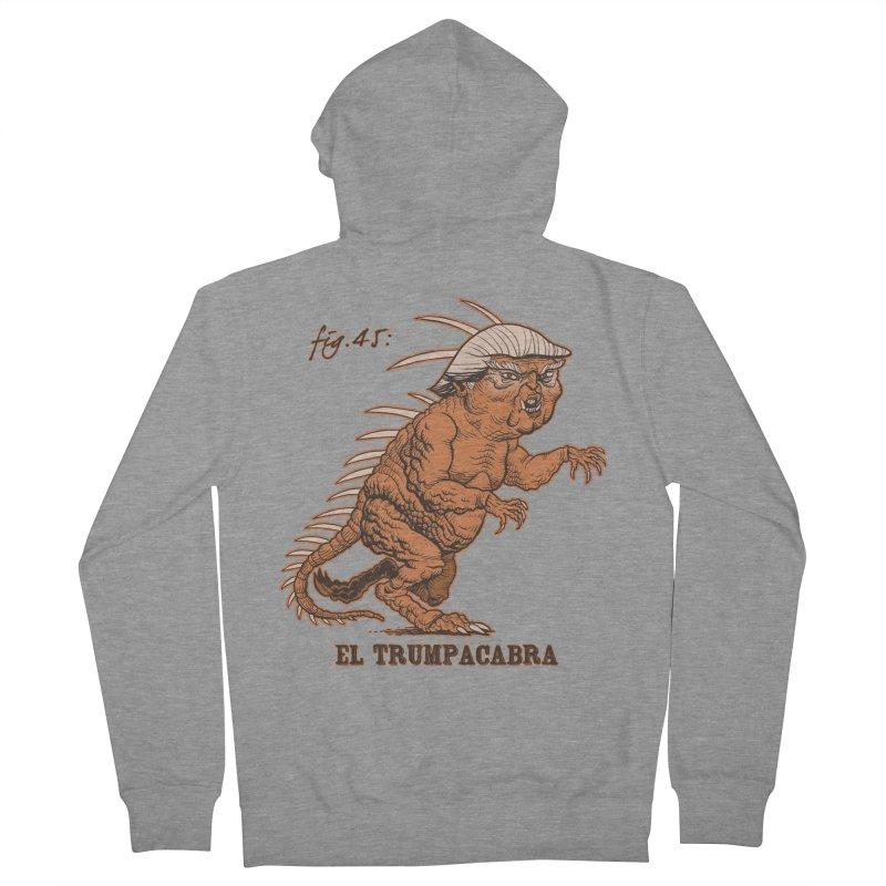 El Trumpacabra Men's French Terry Zip-Up Hoody by Frankenstein's Artist Shop