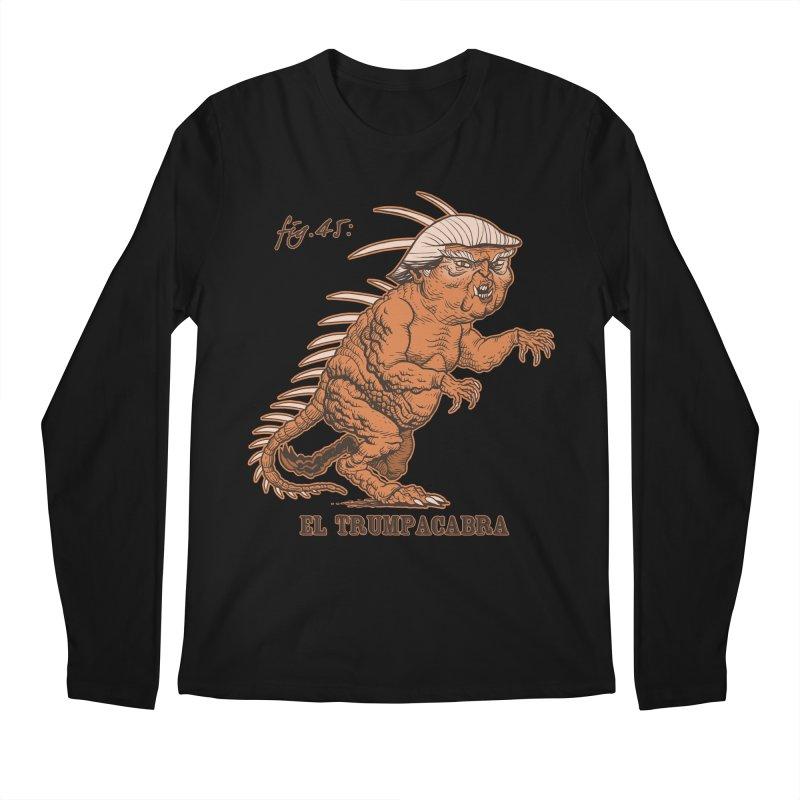 El Trumpacabra Men's Longsleeve T-Shirt by Frankenstein's Artist Shop