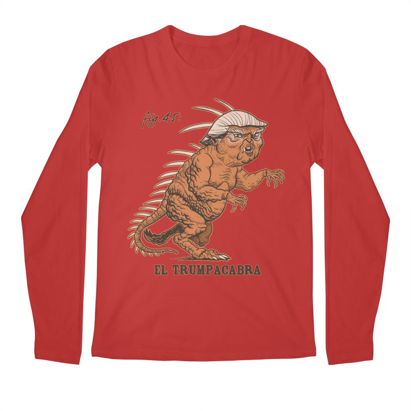 El Trumpacabra Men's Regular Longsleeve T-Shirt by Frankenstein's Artist Shop