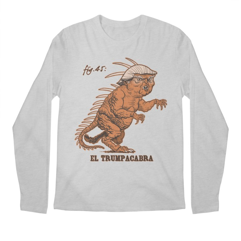 El Trumpacabra Men's Regular Longsleeve T-Shirt by Frankenstein's Artist Shop