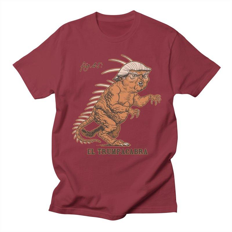 El Trumpacabra Women's Regular Unisex T-Shirt by Frankenstein's Artist Shop