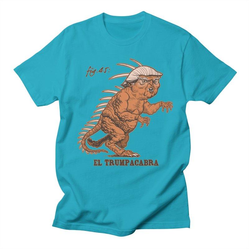 El Trumpacabra Men's T-Shirt by Frankenstein's Artist Shop