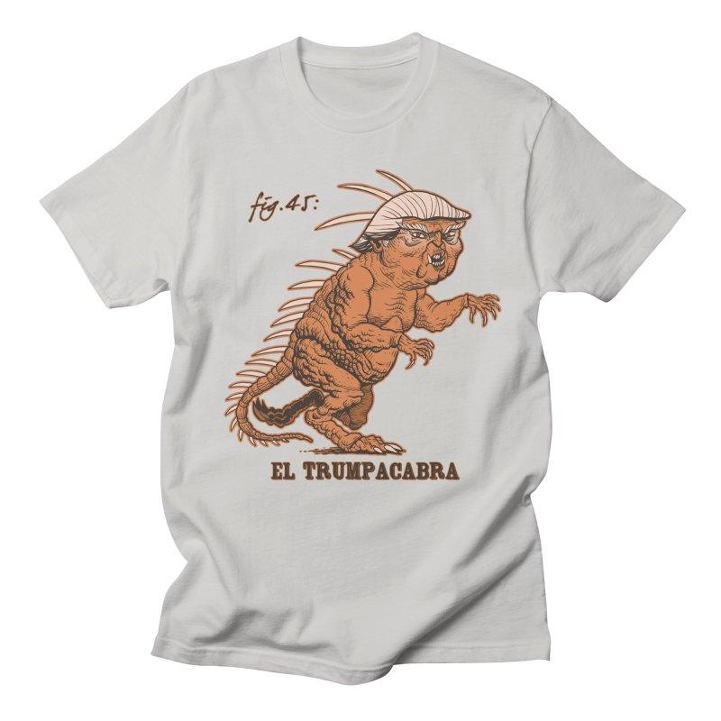 El Trumpacabra Men's Regular T-Shirt by Frankenstein's Artist Shop