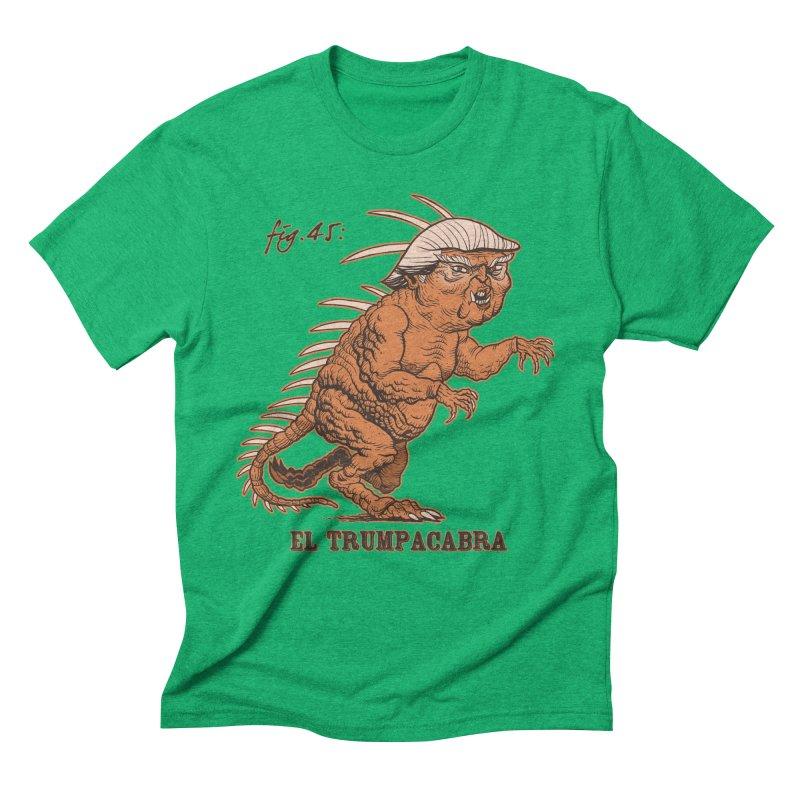 El Trumpacabra Men's Triblend T-Shirt by Frankenstein's Artist Shop