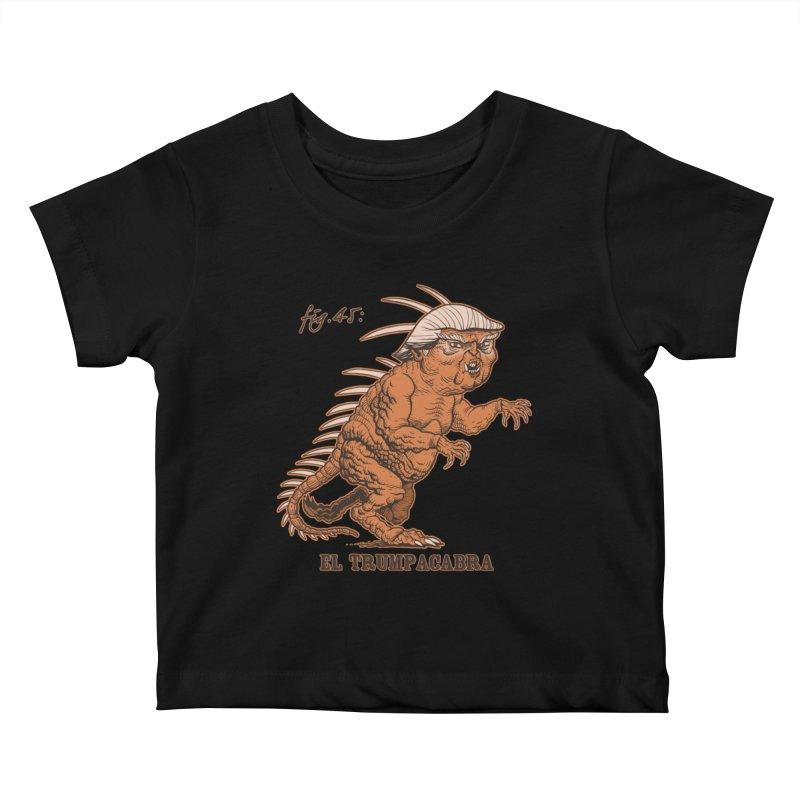 El Trumpacabra Kids Baby T-Shirt by Frankenstein's Artist Shop
