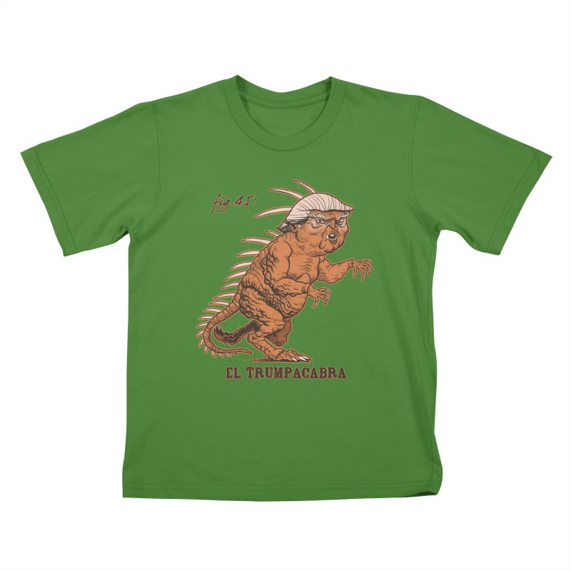 El Trumpacabra Kids T-Shirt by Frankenstein's Artist Shop
