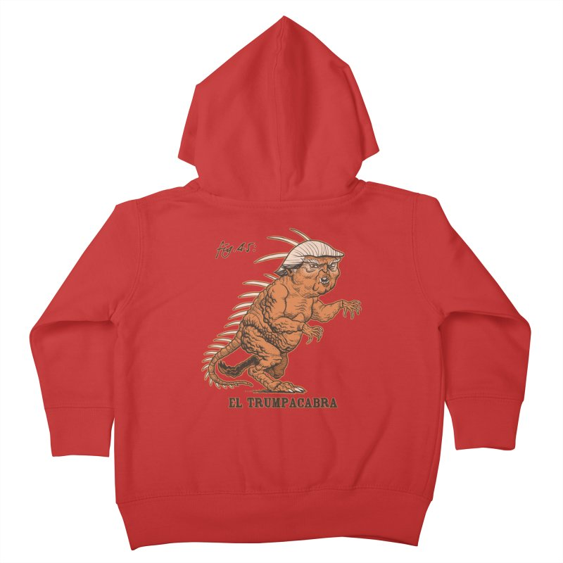 El Trumpacabra Kids Toddler Zip-Up Hoody by Frankenstein's Artist Shop