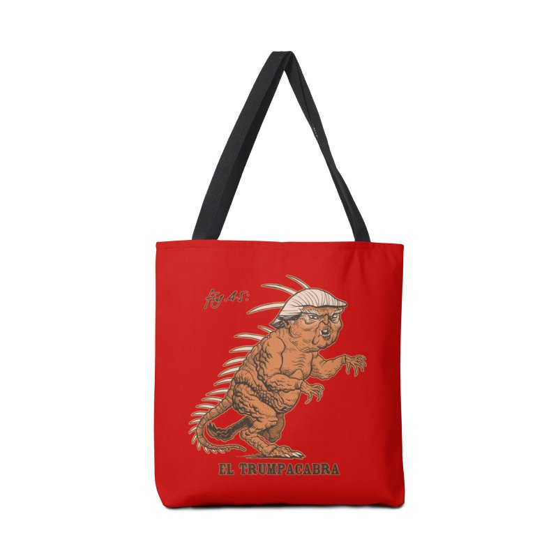 El Trumpacabra Accessories Bag by Frankenstein's Artist Shop