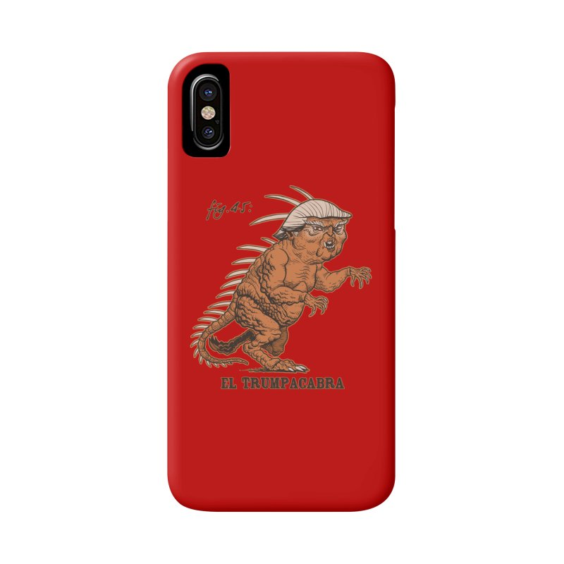 El Trumpacabra Accessories Phone Case by Frankenstein's Artist Shop