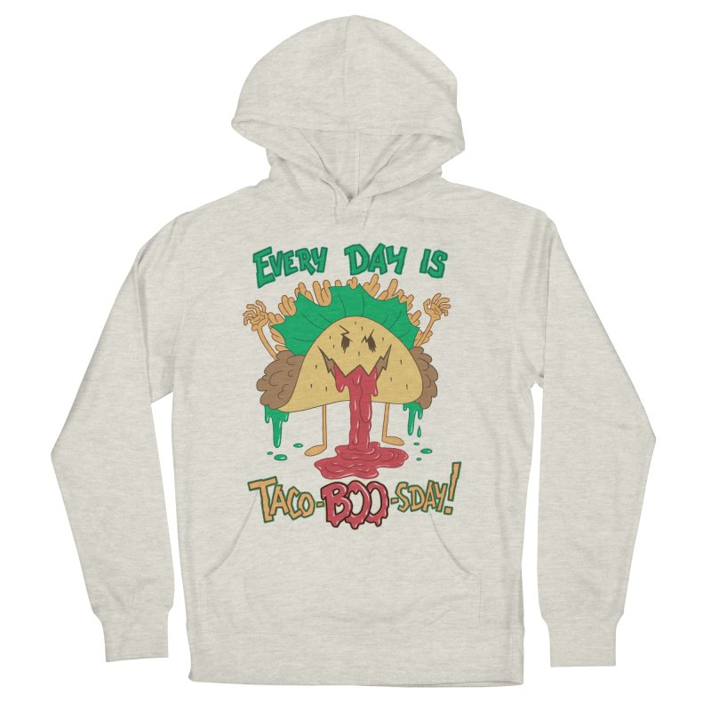 Every Day is Taco-BOO-sday! Men's French Terry Pullover Hoody by Frankenstein's Artist Shop