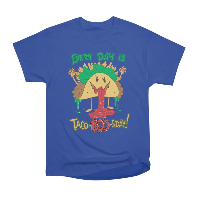 Every Day is Taco-BOO-sday! Women's Classic Unisex T-Shirt by Frankenstein's Artist Shop