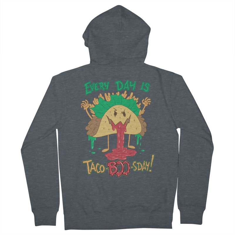 Every Day is Taco-BOO-sday! Men's Zip-Up Hoody by Frankenstein's Artist Shop