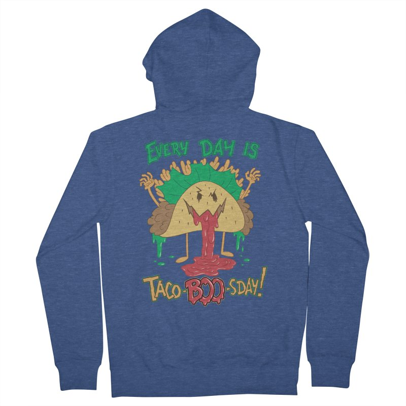Every Day is Taco-BOO-sday! Men's French Terry Zip-Up Hoody by Frankenstein's Artist Shop