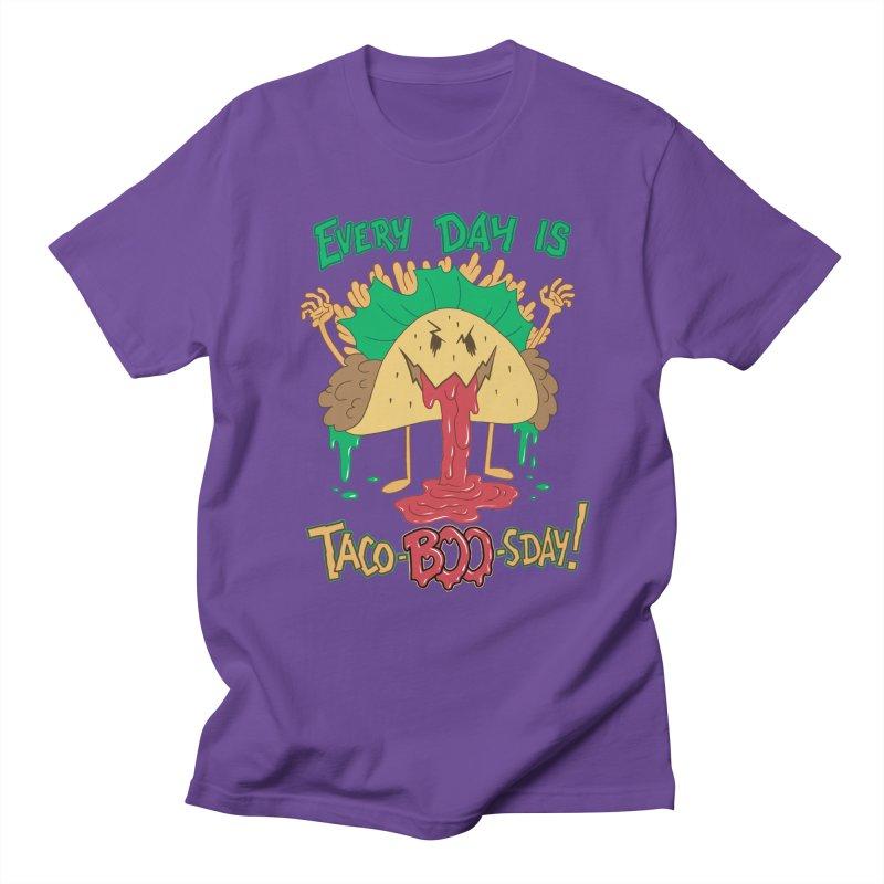 Every Day is Taco-BOO-sday! Women's Regular Unisex T-Shirt by Frankenstein's Artist Shop