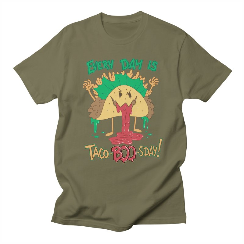 Every Day is Taco-BOO-sday! Women's Unisex T-Shirt by Frankenstein's Artist Shop