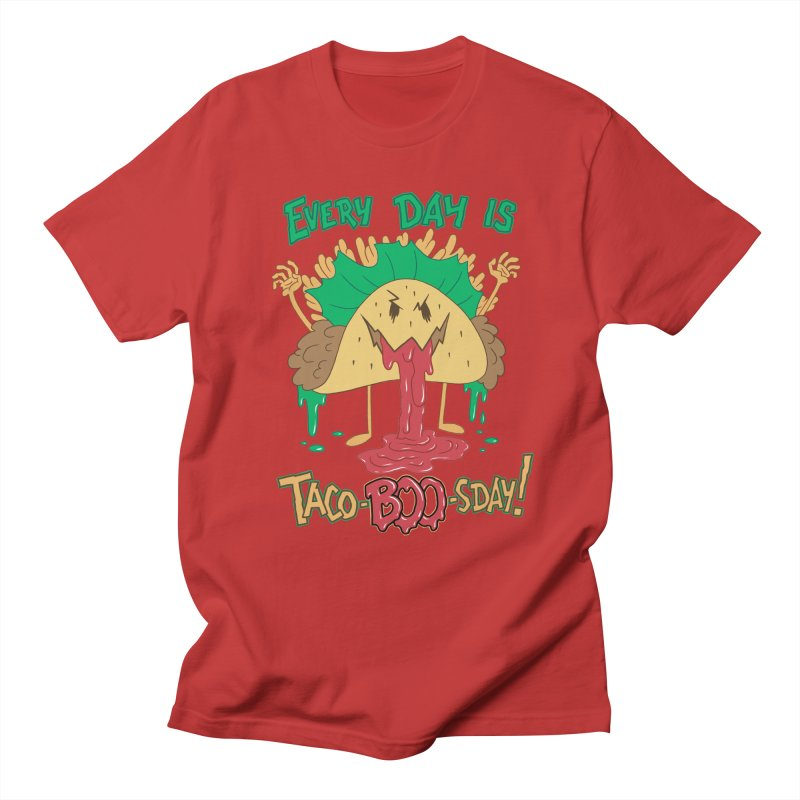 Every Day is Taco-BOO-sday! Men's Regular T-Shirt by Frankenstein's Artist Shop