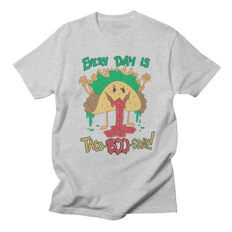 Every Day is Taco-BOO-sday! Men's T-Shirt by Frankenstein's Artist Shop