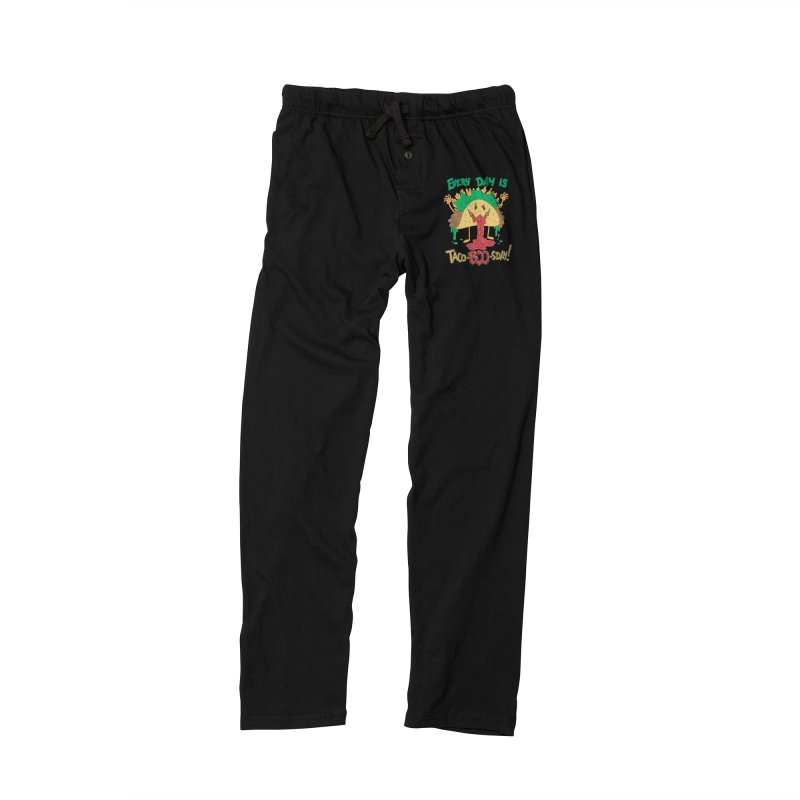 Every Day is Taco-BOO-sday! Men's Lounge Pants by Frankenstein's Artist Shop