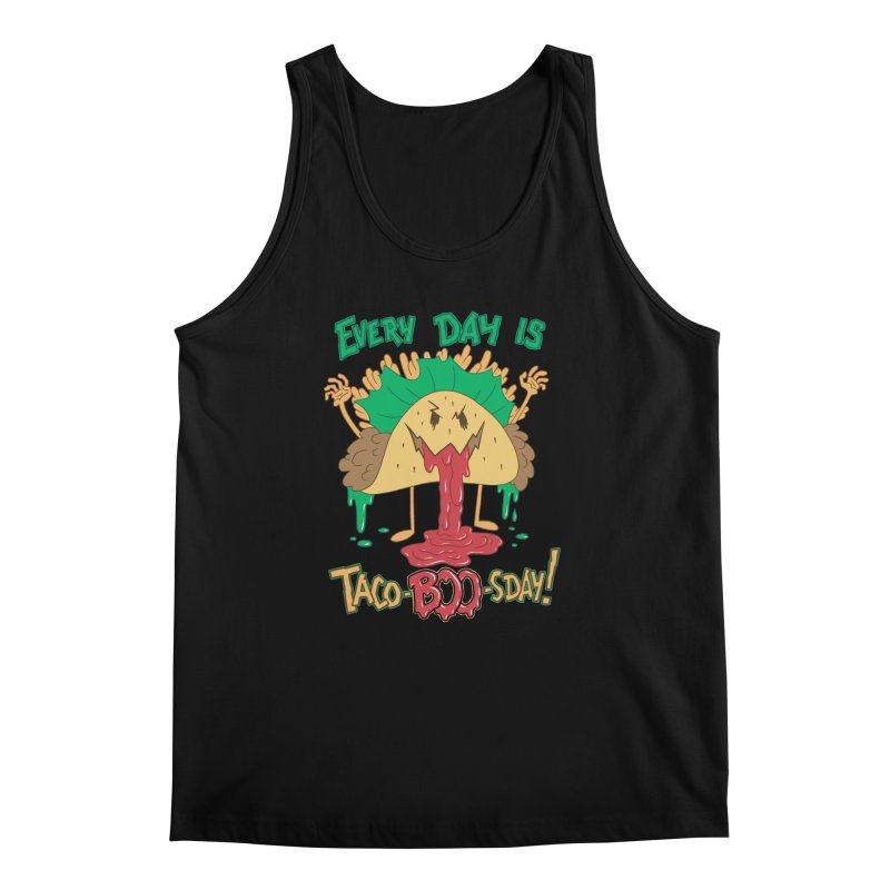 Every Day is Taco-BOO-sday! Men's Regular Tank by Frankenstein's Artist Shop