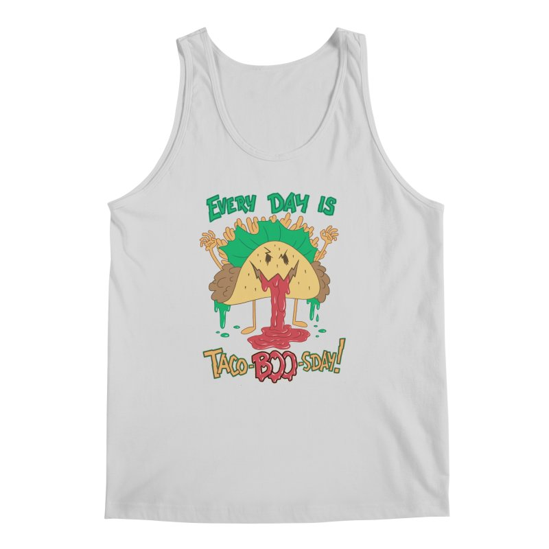 Every Day is Taco-BOO-sday! Men's Tank by Frankenstein's Artist Shop